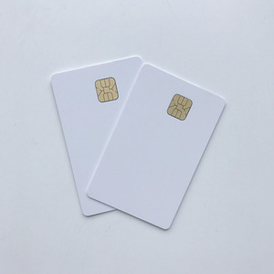 Image 3 - 50pcs/lot blank inkjet printable SLE4428 chip card contact pvc card credit card size print by epson or canon inkjet printers