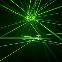 KS66 Party robot men wears laser glasses green laser beams 4pcs heads gloves dj party laser men projector disco rave costumes dj