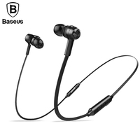 Baseus Magnetic Wireless Bluetooth Earphone For IPhone7 Samsung S8 Sport Running Stereo In Ear Earphone Earbuds