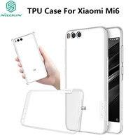 NILLKIN Nature TPU Case For Xiaomi Mi6 Ultra Thin Soft TPU Gel Transparent Case For Xiaomi