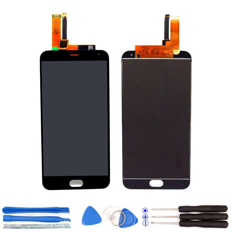 imágenes para 100% Nueva 5.5 pulgadas M2 Nota LCD Display + Digitalizador de Pantalla Táctil asamblea Reemplazo Para M2 Meizu Nota Piezas Del Teléfono Y Envío herramientas