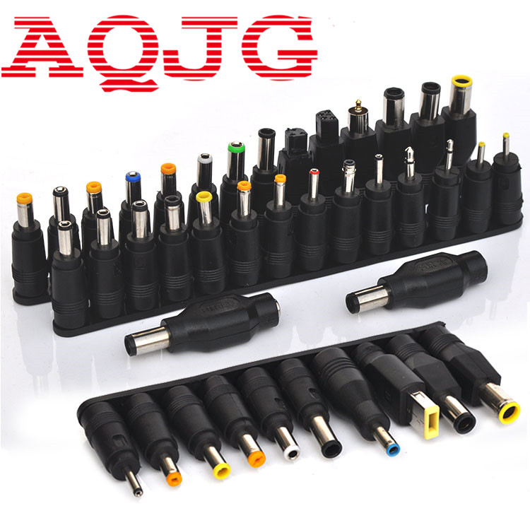 40pcs Universal Laptop AC DC Jack Power Supply Adapter Connector Plug for HP IBM Dell Apple Lenovo Acer Toshiba Notebook Cable free shipping new laptop dc power jack connector cable wire for dell inspiron 15r n5050 n5040 m5040 p n 50 4ip05 101