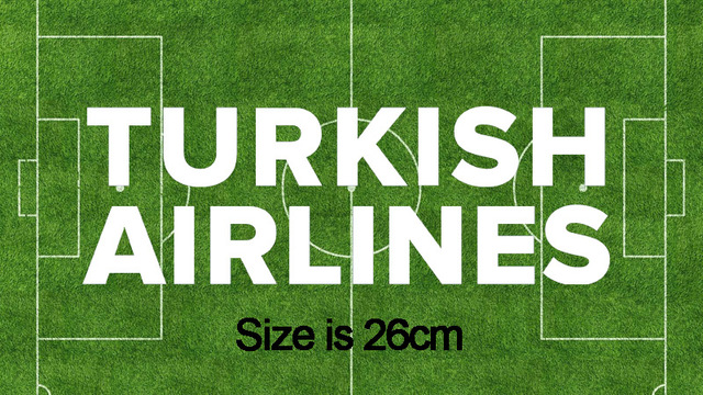 US $5 1 15% OFF|White and Green TURKISH AIRLINES Sponsor patch Soccer  Badge-in Patches from Home & Garden on Aliexpress com | Alibaba Group