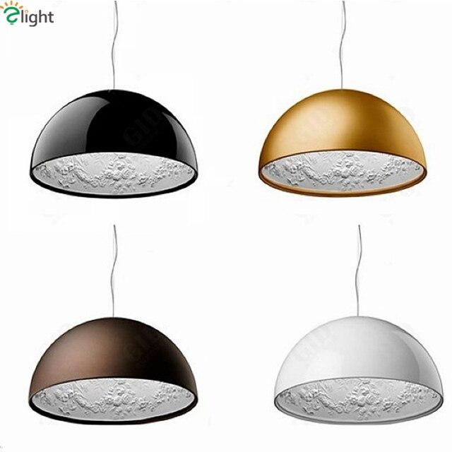 Modern Simple FRP Resin Foyer E27 LED Pendant Light Marcel Wanders Led Pendant Lamp Internal Pattern Skygarden Led Hanging Light
