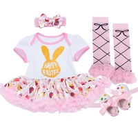 Zebra Baby Rompers Baby Girl S Minnie Mickey Dress Body Suits Lace 4pcs Sets 2014 New
