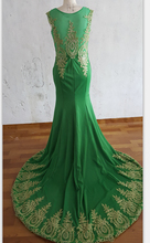 2017 Free shipping Mermaid Evening Dresses Long