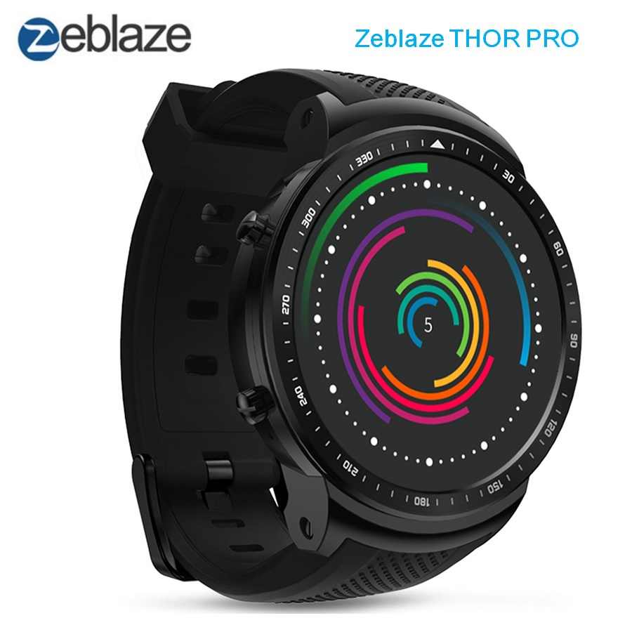 Zeblaze THOR PRO 3G Smartwatch Phone 1.53 inch Android 5.1 MTK6580 Quad Core 1.0GHz 1GB RAM 16GB ROM GPS Touch Screen Bluetooth цена