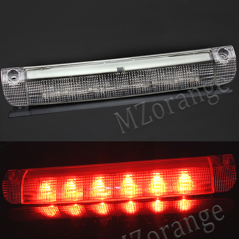 MZORANGE For Toyota Highlander 2008-2014 RAV4 2006-2012 Car High Positioned Mounted Rear Third Brake Light Stop Lamp