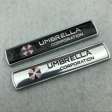 Car styling 3D Aluminum alloy Umbrella corporation car stickers Resident Evil decals emblem decorations badge auto accessories(China)