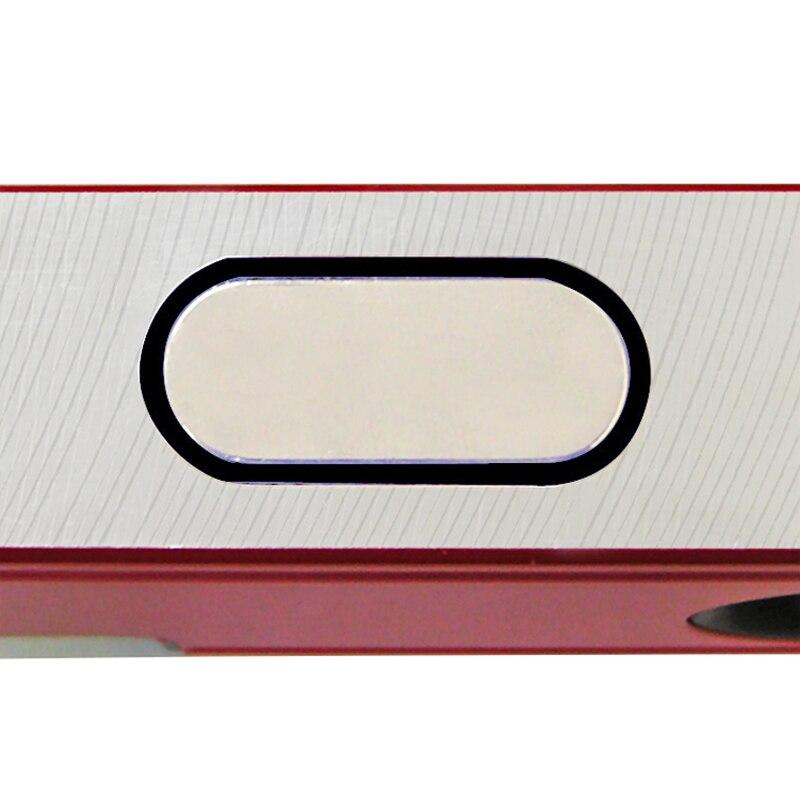 KAPRO Instrument de mesure de niveau en alliage d'aluminium de haute précision 60/80 CM avec bulles à bulle verticales horizontales - 5