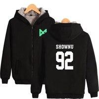 BTS Monster X Cool Hoodies Sweatshirt Zipper Women/Men Popular Zipper Winter Fashion Hoodies Anime Zippe Sweatshirt Plus Size XL