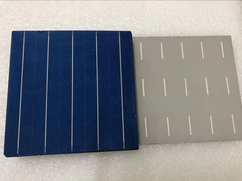 1009.53руб. 50% СКИДКА|10 шт 156,75 мм DIY поликристаллическая солнечная панель батарея 6x6 Китай дешевые цены|Солнечные батареи| |  - AliExpress