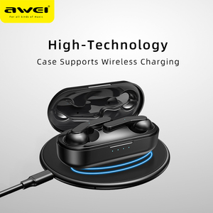 Image 4 - AWEI T10C 2020最新のゲームバージョン tws 5.0 IPX4 Bluetooth 真ワイヤレスイヤフォンタッチ制御ノイズボリューム超低音サウンドでキャンセルマイク