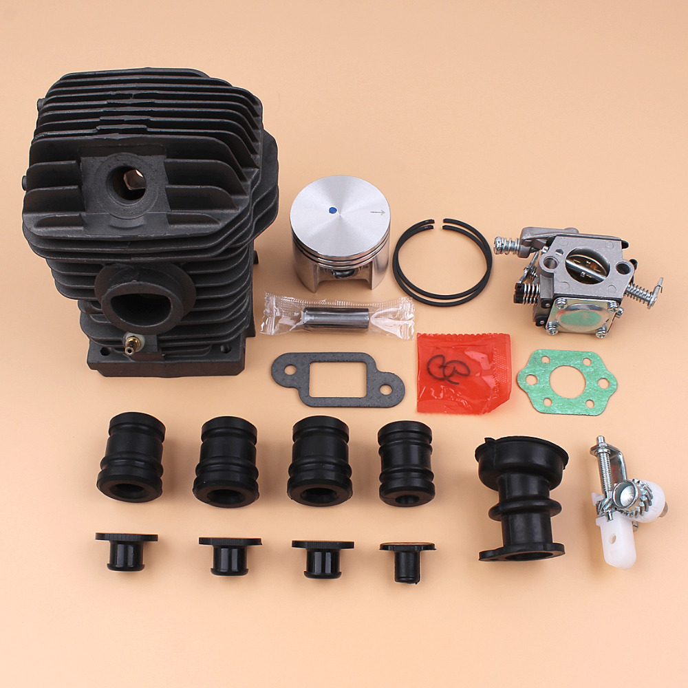 Cylinder Piston & Carburetor Buffer Chain Tensioner Kit For STIHL 023 025 MS230 MS250 (42.5MM) Chainsaw Motor Engine Parts цена