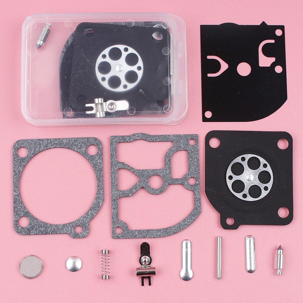 2pcs Carburetor Carb Rebuild Repair Kit For Husqvarna 136 137 141 142 Zama RB-137 RB 137 RB137 Chainsaw Part