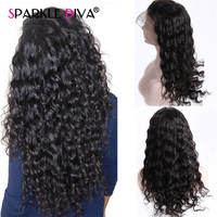 Peruvian Loose Wave 360 Lace Frontal Wigs Pre Plucked With Baby Hair Remy Human Hair Lace Front Wigs For Women 150% Density Wigs