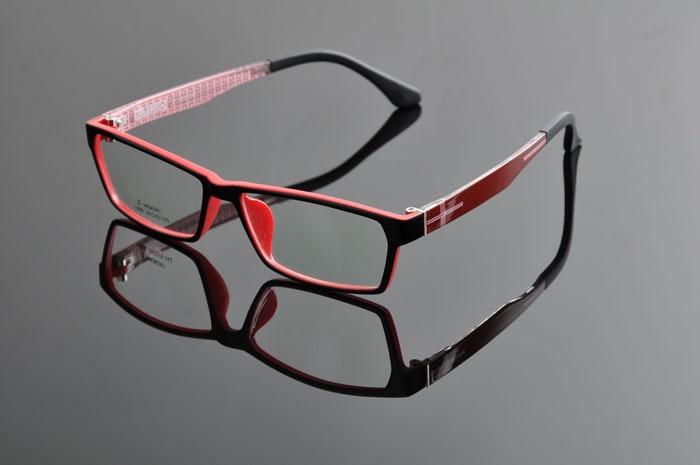 Рецепт очки Разноцветные Очки для Для мужчин Для женщин унисекс очки óculos де desporto dd0880 - Цвет оправы: black red