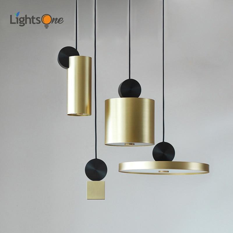 Postmodern creative Nordic living room corridor restaurant designer pendant lamps bar cafe model room pendant lights