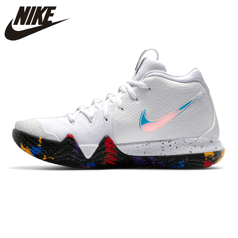 best service 42d7d e1de5 US $150.64 30% OFF|Nike KYRIE 4 EP Irving 4th Generation Men's Basketball  Shoes, White, Breathable, Non Slip, Abrasion Resistant 943807 104-in ...