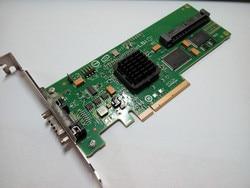 Оригинал, в разобранном виде LSI SAS 3442E-R SAS четыре порта Внутренний + внешний PCI-E SAS карта массива