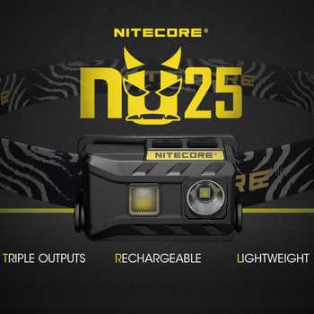 NEW Nitecore nu25 Cree XP-G2 S3 WHITE+CRI+RED USB Rechargeable Headlight Headlamp - DISCOUNT ITEM  30 OFF Lights & Lighting