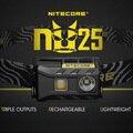 NiteCore NU25 Cree XP-G2 S3 BIANCO + CRI + RED USB Ricaricabile Del Faro Del Faro