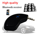 Super Mini Bluetooth Car Kit Bluetooth Receiver Handsfree AUX Out Adapter For Music and Mobile Phone Iphone 8098