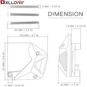 Image 5 - אביזרי אופנוע CNC אלומיניום מנוע protectiver כיסוי אופנוע מנוע קוואסאקי Z900 Z1000 2010 2011 2012 2017
