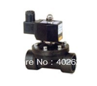 2W series plastic solenoid valve,49pcs a lot, normal closed, PNEUMATIC solenoid vlave,free shipping