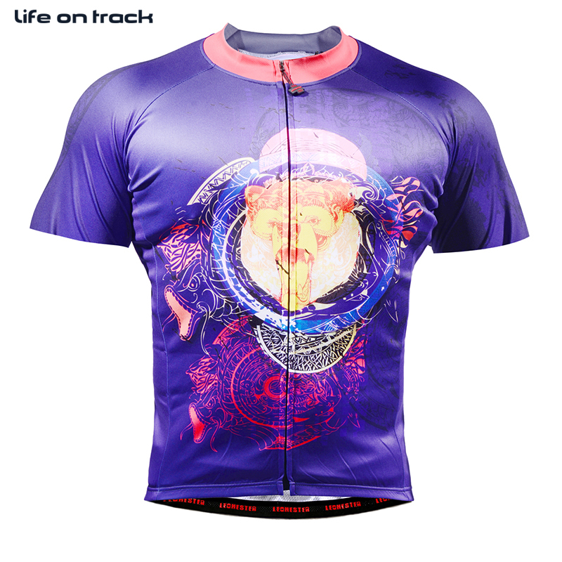 2016 New Arrival Short Sleeve Jersey Two Different Color Full Eagle And Animal Printing Multi Training Sports Cycling Clothing
