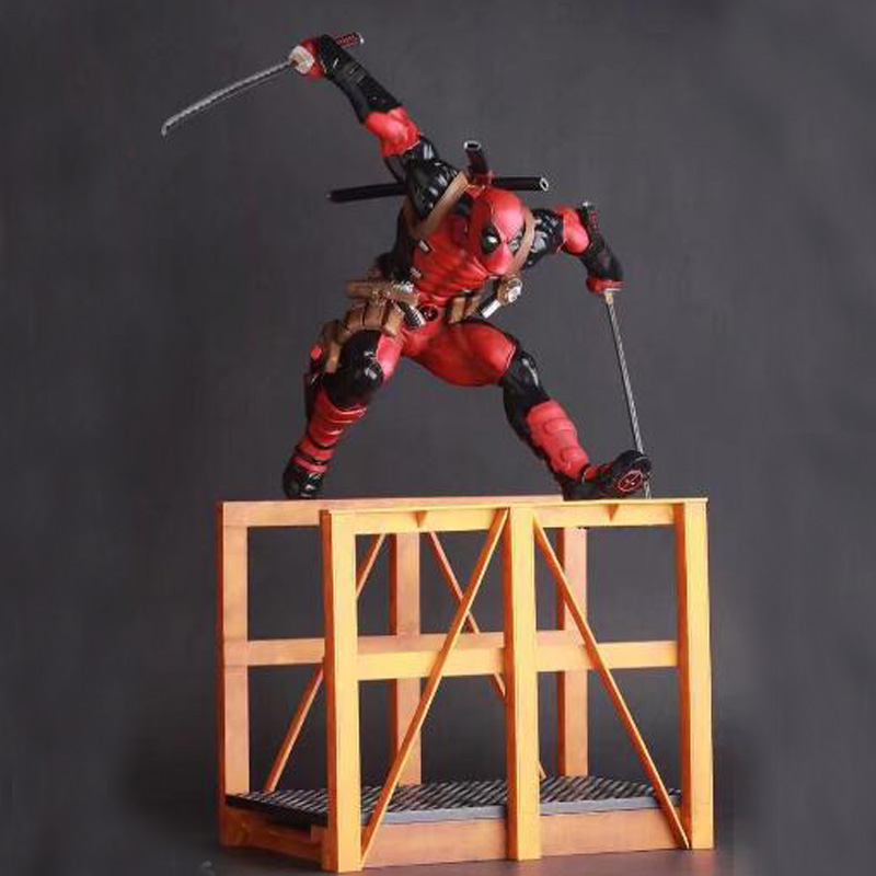 Deadpool 2 Hurdling Ver. 1/6th Scale Statue PVC Figure Collectible Model Toy 40cm aileendoll rot ver 2 dangon