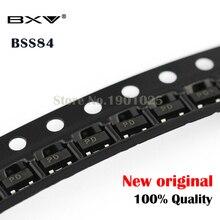 Free Shipping 100PCS BSS84LT1G SOT-23 BSS84 SOT SMD new and original bat54c kl3 0 2a 30v sot 23