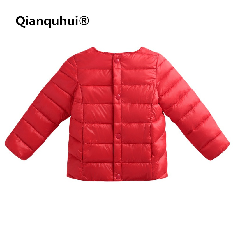 Qianquhui Baby Girls Boys Clothes Coats Infant Toddler Winter Keep Warm Down Jacket For A Girl Boy Polyester Outwears Coat new 2016 baby down coats set baby down jacket suspenders girl