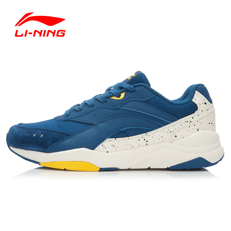 Li-Ning Spring Walking Shoes Men Outdoor Leather Mixed Colors Breathable Sneakers Sport Shoes Sapatilhas ALCK061 XMR1048 li ning outdoor sports life series wear resisting breathable young steady sport shoes sneakers walking shoes men alck021 xmr1052