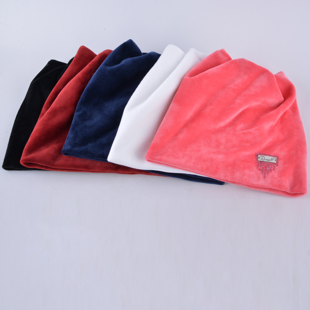 Image 5 - Winter Beanie Hat Ladies Cat Girls Hats For Women Beanies Fluff Caps Russia Skullies Touca Cap With Ear Flaps-in Women's Skullies & Beanies from Apparel Accessories