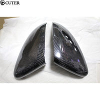 Golf 7 MK7 Carbon Fiber rear Review Mirror Cover Caps For VW Golf VII MK7 GTI R 2014UP Free shipping