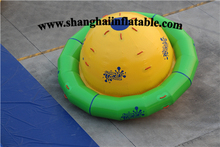 0.9MM PVC big spinner inflatable water park water sports game giant inflatable floating water park ,water splash park for sale