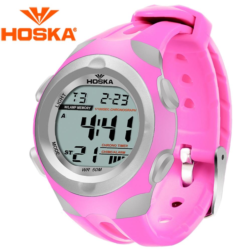 Brand HOSKA children s watches Kids digital watch Quartz watch student BOYS digital watch sport outdoor