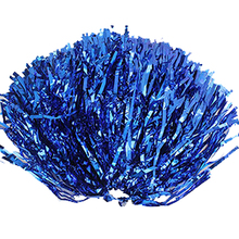 SZ-LGFM-Party Costume Sports Cheerleader Party Favors Flower Ball Pom Poms Hot New Blue
