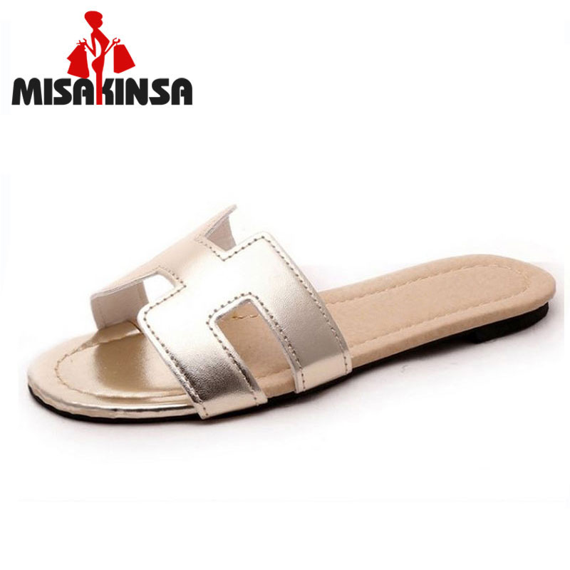 new arrival brand quality leisure women sandals slippers summer shoes beach flip flops women footwear size 35-40 WC0148