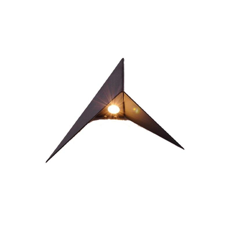 Kreative Dreieck-Wandleuchte 85-265V 3W führte Wandleuchte Hotel - Innenbeleuchtung - Foto 4