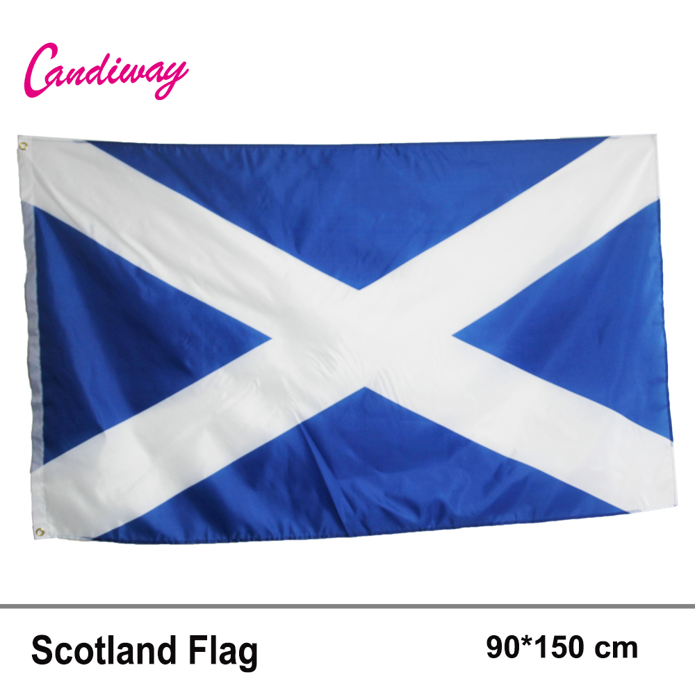 Ladies Scottish Saltire Flag Briefs Pack of 3 for the price of 2