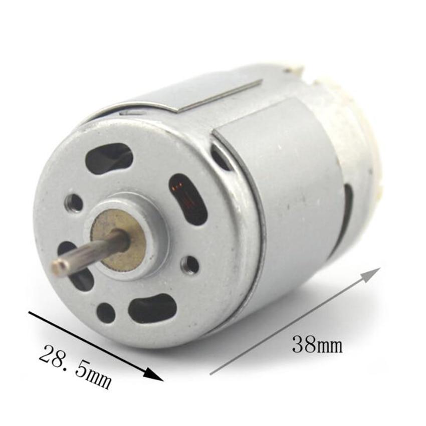 3.6V Model 380 DC Motor 6V 11500rpm 1.08A DIY Model Making Parts Toys Handmade Accessories