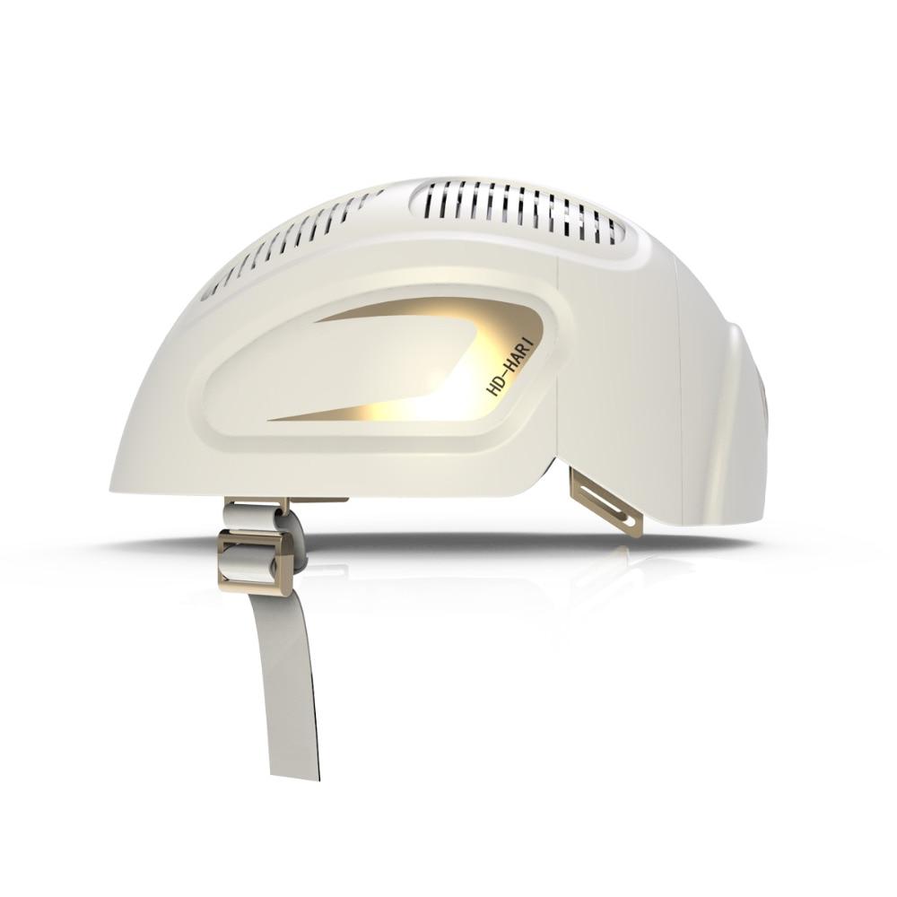 Perdita di Capelli Terapia Laser LLLT Protezione 680nm/850nm Diodo Laser 150 Diodi Laser Crescita Dei Capelli Sistema di Casco