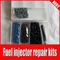 Envío gratis 200 kit de reparación del inyector de Combustible unids/caja incluyendo filtro de inyector de combustible o ring arandela de plástico pintle cap (TS-RK0007)
