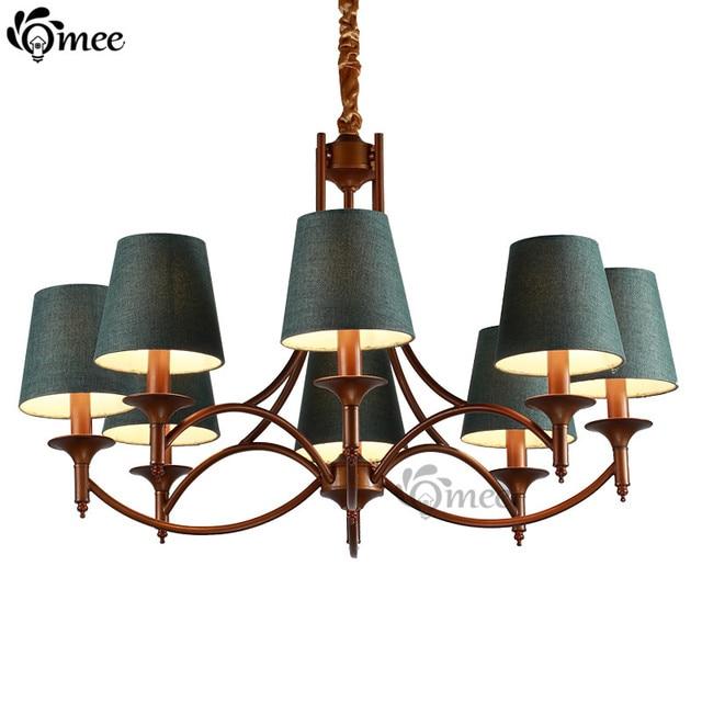 Nahen Osten Mode Kronleuchter Lampe Indoor Kurze Kronleuchter Dark Grün  Bronze Schmiedeeisen Kerze E14 Led