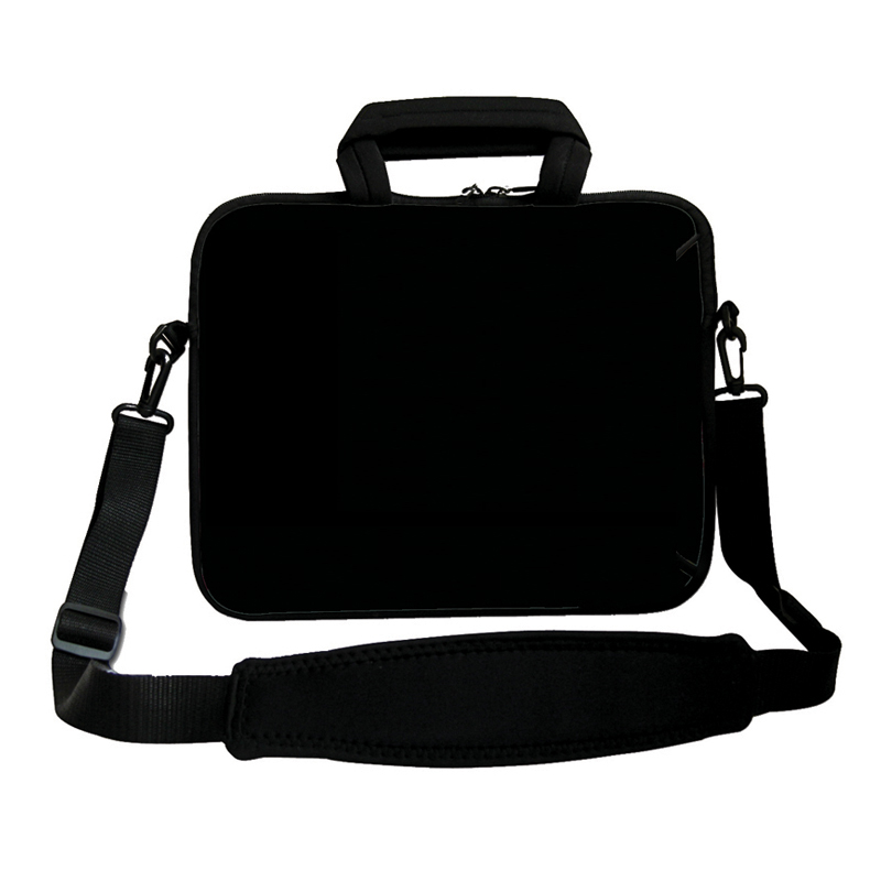 Elegant Black Cover Zipper Casual 10 10.1 10.2 9.7 Tablet Bolsa Funda Bags Messenger Pouch +Shoulder Strap Netbook Bag Cases