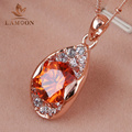 Top Quality N132 Tears Of The Sun  Rose Gold Pated Pendant Necklace Jewelry Austrian Crystal  Wholesale