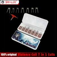 Demon Killer Violence Coil 7 In 1 Coil Prebuilt Coils Alien V2 Tsuka Coil Clapception Framed