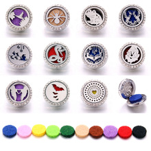 New Aromatherapy 18mm Snap Buttons Perfume Locket Stainless Steel Essential Oil Diffuser Love Mom Button Bracelet Jewelry